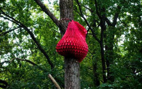 paper artwork tree